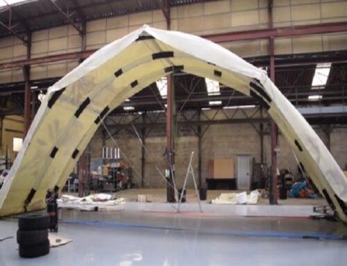 ISTech développe de grands abris de chantier