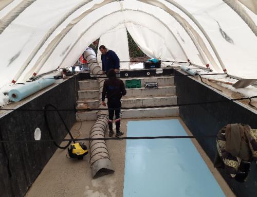 Pourquoi utiliser un abri de chantier dans le monde de la piscine ?